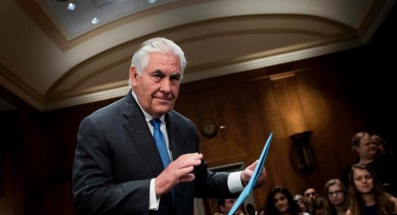 Secretary of State Rex Tillerson/AFP