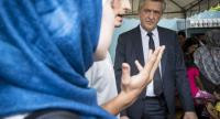 Filippo Grandi, the United Nations High Commissioner for Refugees , on Friday visits refugees in Bangkok. The UNHCR estimates that there are currently around 7,000 urban refugees in the capital.