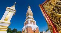 Phra That Phanom chedi, the sacred landmark of Nakhon Phanom (photo: Tourism Authority of Thailand)