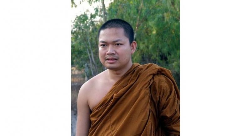 File photo of the former monk Wirapol Sukphol, or Luang Pu Nenkham.
