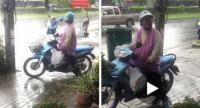 A Phuket teacher posted a video of the man exposing himself to her in public. Photo: Kritsada Mueanhawong