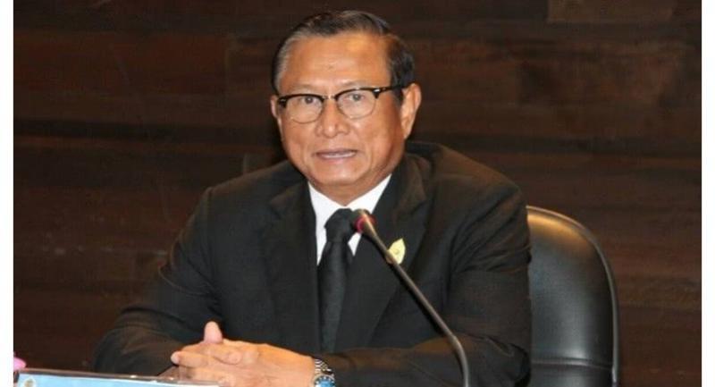 Election Commission president Supachai Somcharoen