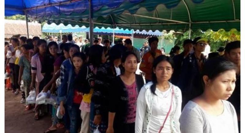 Migrant workers (Photo-Ko Shwe Thein)