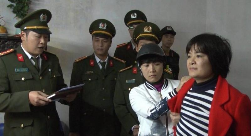 File photo: Activist Tran Thi Nga, aka Thuy Nga, was arrested this morning in Ha Nam,Vietnam,on suspicion of spreading anti-state propaganda. Photo from twitter.com/WHRDIC