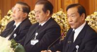 NRSA's president Tinapan Nakata (R)