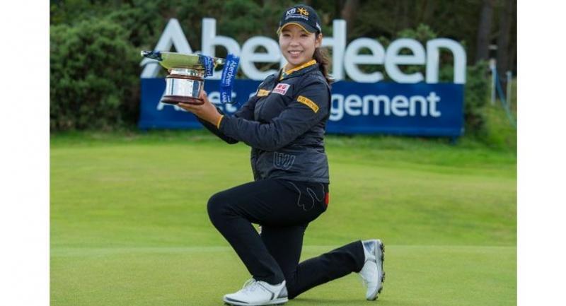 Lee Mi-Hyang  (Photo credit to Ladies European Tour)
