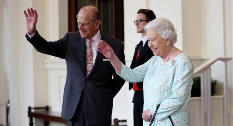 File photo: Britain's Queen Elizabeth II (R) and Prince Philip (L).