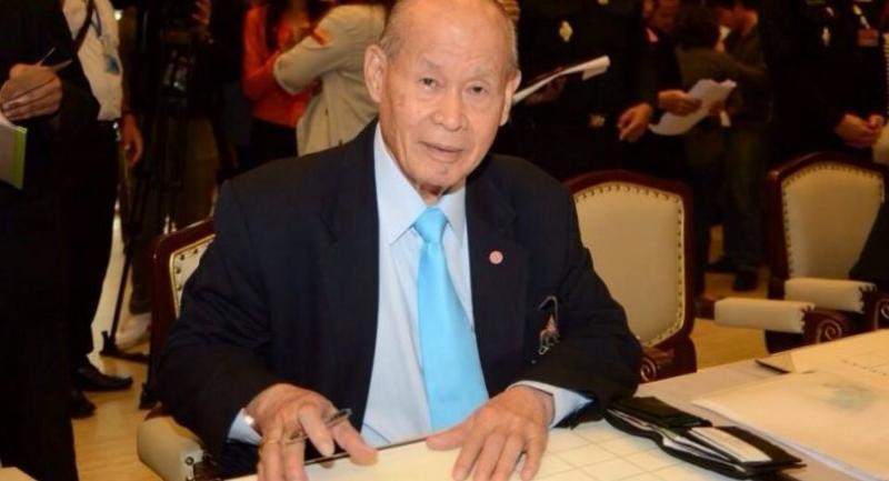 Olympic Committee of Thailand secretary-general Charouck Arirachakaran