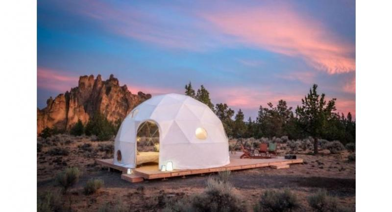 Airbnb's solar eclipse viewing experience features a night under the stars in the Oregon wilderness. — AFP Relaxnews