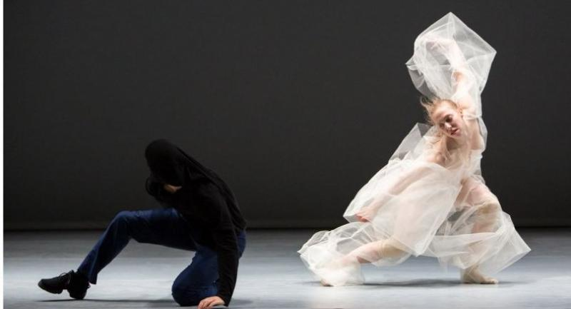 """Canada-born choreographer Marie Chouinard stages """"Soft virtuosity, still humid, on the edge"""" at he 37th annual Festival Montpellier Danse. Photo/Nicolas Ruel"""