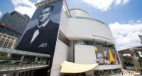 Bangkok Art and Culture Centre devotes the whole nine-floor building to the late King Bhumibol, whose giant portrait graces the external wall of the centre. Photo courtesy of BACC