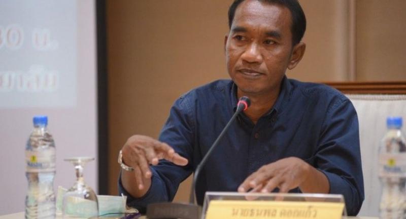 Thai Kidney Club president Thanapon Dokkaew.