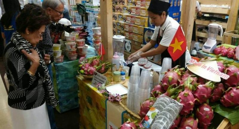 Products on show are all 'Made in Vietnam' and are also on sales at Central Group's outlets in Vietnam.
