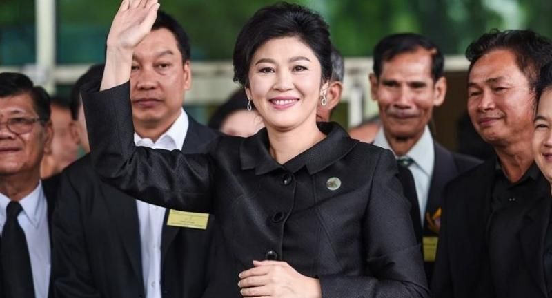 File photo : Yingluck