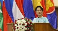 File photo : Aung San Suu Kyi//EPA