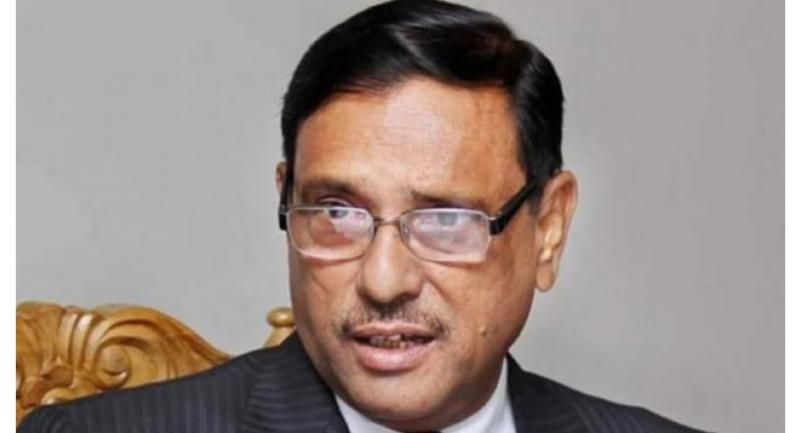 Awami League General Secretary Obaidul Quader on September, 05, 2017, says his government is treating Rohingya refugees on humanitarian ground. File photo