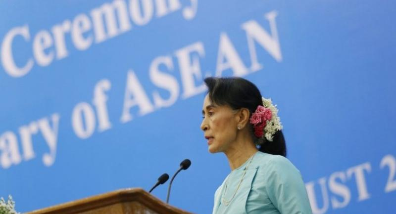 File photo : Aung San Suu Kyi//EPA