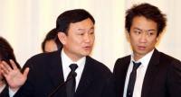 File photo: Thaksin and Panthongtae