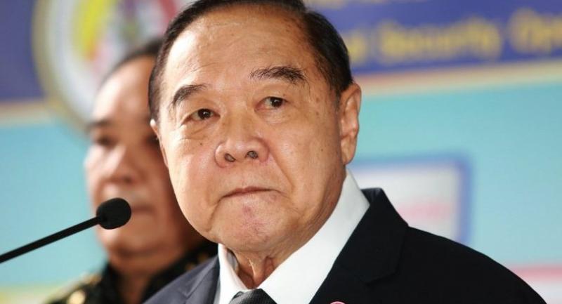 File photo: Deputy Prime Minister Prawit Wongsuwan.