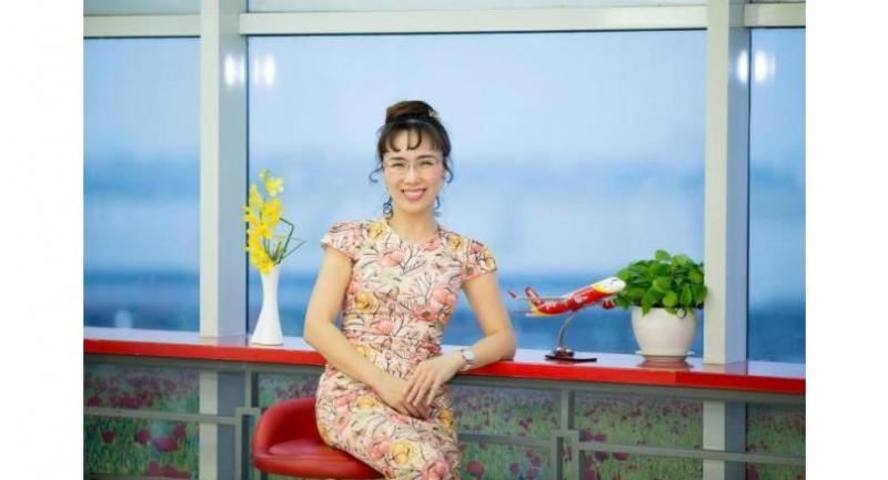 Nguyen Thi Phuong Thao, the president and chief executive of budget airline Vietjet Air
