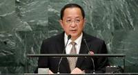 North Korean Foreign Minister Ri Yong-ho gives keynote speech at the 71st session of the United Nations General Assembly in 2016. Yonhap