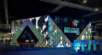 A special cinema,  featuring multi-media content on a 180-degree screen, gives audiences a feel of  digital lifestyles, at Digital Thailand Big Bang 2017, being held until September 24 at the Challenger Hall 1-2, Impact Muang Thong Thani.