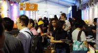 Visitors flock to Local Startup Fest 2017 at The Space in Senayan City, South Jakarta, in February. (JP/Masajeng Rahmiasri)