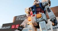 The RX-0 statue replaced the previous RX-78-2 Gundam statue (above), which stood in the same spot for almost five years since 2012. (shutterstock.com/Thidarii/File)