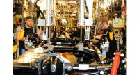 Workers at Hyundai Mobis' factory in North America. (Hyundai Mobis)