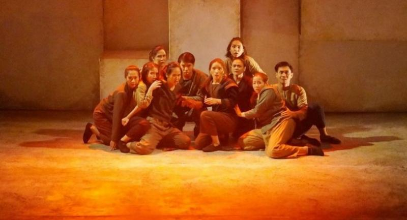The revival of B-Floor Theatre's award-winning play packed a greater political punch.