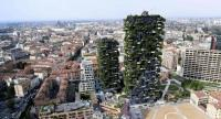 "The ""Vertical Forest"" designed by Studio Boeri in the Porta Nuova area in Milan."