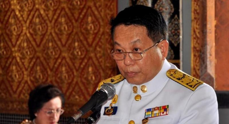 Former chief of the National Buddhism Office (NBO) Nopparat Benjawatananan.