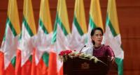 File photo : Aung San Suu Kyi//AFP