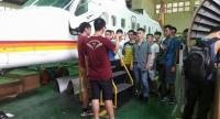 Students get hands-on training in aircraft repair in the engineering programme at National Formosa University, a well-known technical institute in Taiwan, which is popular among students from Southeast Asia.