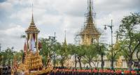 File photo : Rehearsal of the Royal cremation.//Chalinee Thirasupa