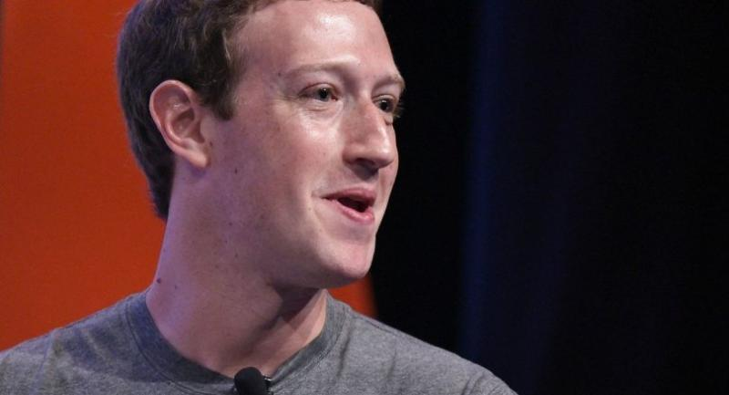 (FILES) This file photo taken on June 24, 2016 shows Facebook CEO and founder Mark Zuckerberg speaking during a discussion at the Global Entrepreneurship Summit at Stanford University in Palo Alto, California. / AFP PHOTO