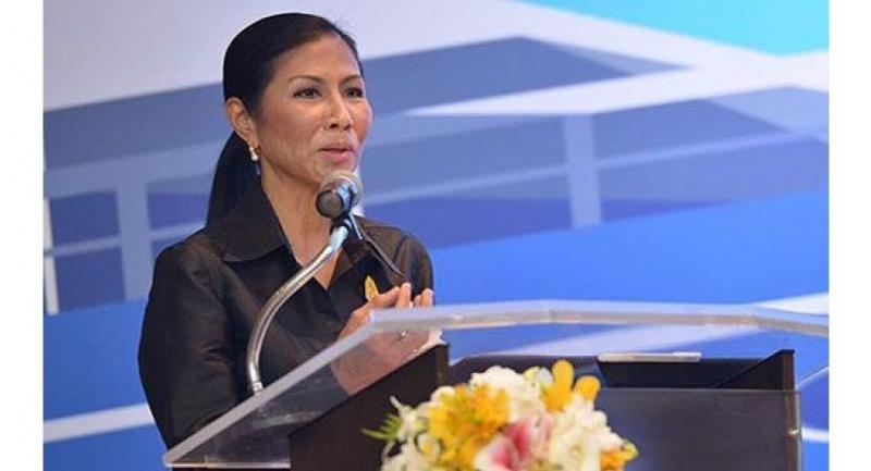 Tourism and Sports Minister Kobkarn Wattanavrangkul