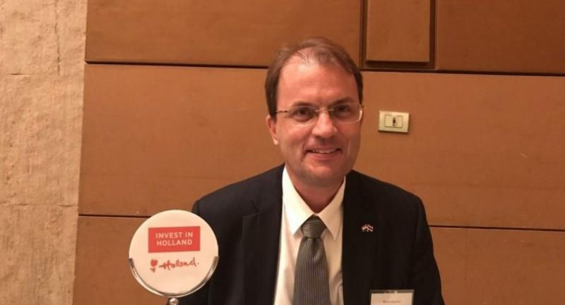 Elmar Bouma, executive director of the Netherlands Foreign Investment Agency for Southeast Asia