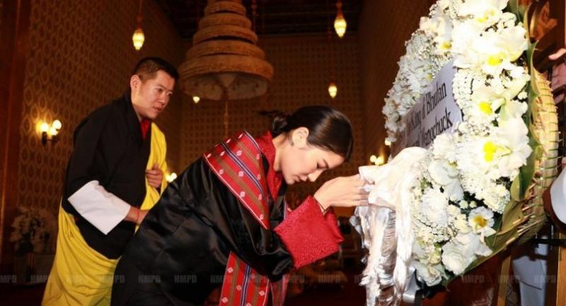 King Jigme Khesar Namgyel Wangchuck and Queen Ashi Jetsun Pema Wangchuck from Bhutan will be among royal guests to attend the Royal Cremation