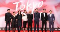 Director, casts and crews of 'Someone From Nowhere' came to walk the red carpet at the 30th Tokyo International Film Festival./photo courtesy of The Tokyo International Film Festival