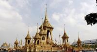 The Royal Cremation ceremonial ground is open to the public and features explanatory exhibitions on the preparation of the royal funeral rites.