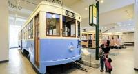 A 1300-series tram car at the Yokohama Tram Museum in Japan. Thirty cars in this series were built in 1947, just after the end of World War II. (Photo/ The Yomiuri Shimbun)