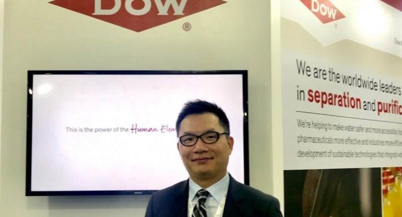 Alan Chan, commercial director for Asia Pacific of Dow Water