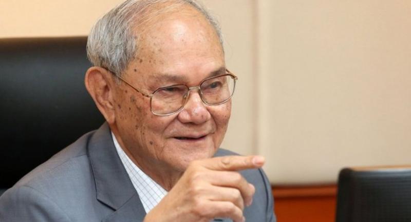 Chief charter drafter Meechai Ruchupan