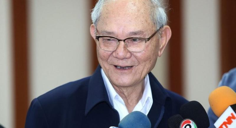 File photo: Meechai Ruchupan, head of the Constitution Drafting Commission