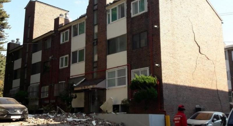 Rare 5 4-magnitude quake hits southern S  Korea
