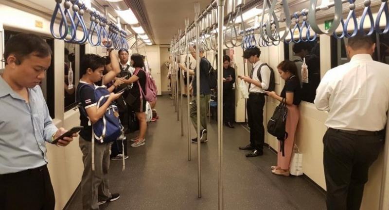 Photo from: MRT Bangkok Metro's Facebook fanpage