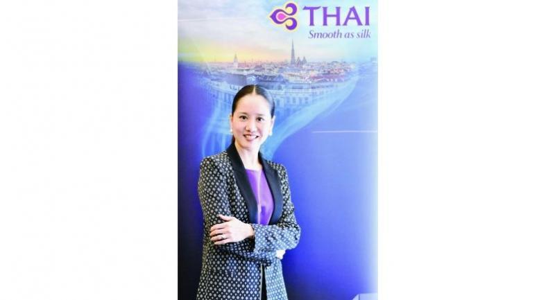Chonnakarn Akrapreedee, THAI general manager, Austria and Eastern Europe