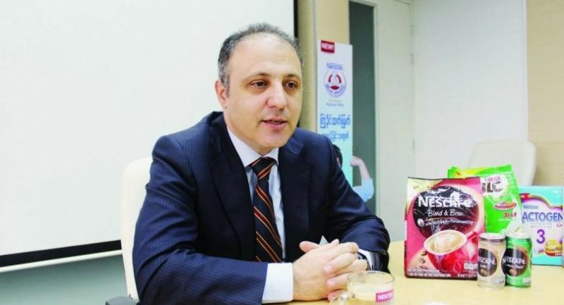 Hayri Devrim Cobek, managing director of Nestle Myanmar