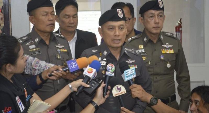 National police deputy chief Pol General Weerachai Songmetta